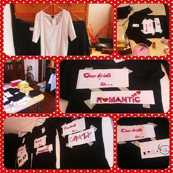bridesmade tshirts