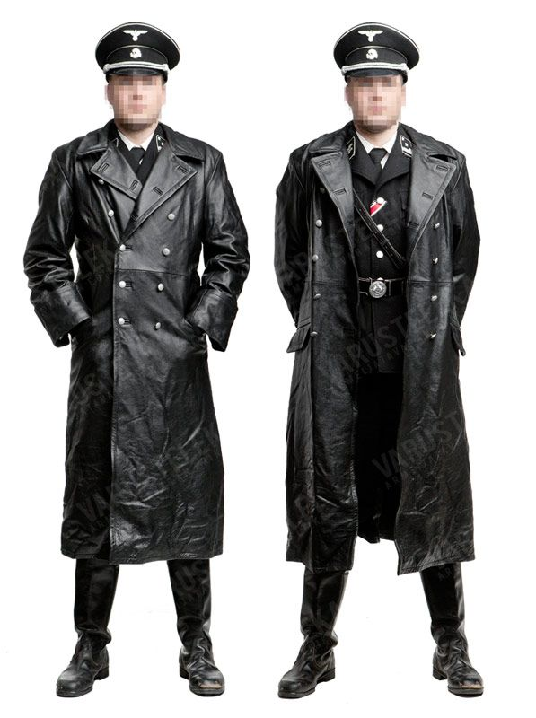 east german raincoat