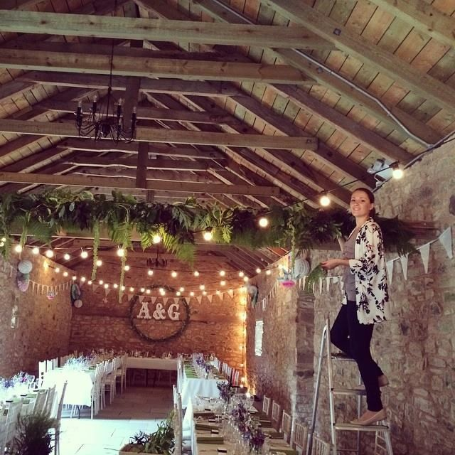 14 best wedderburn barns wedding duns images on pinterest barn a rare photo of em at work dressing the beams stems junglespirit Choice Image