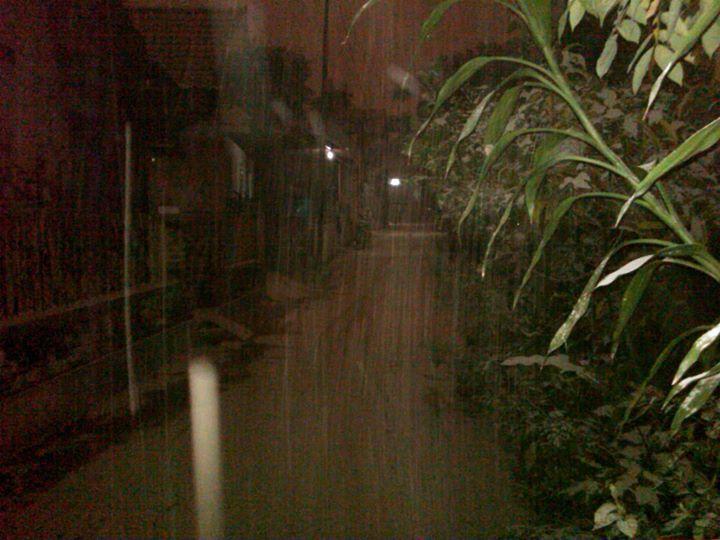 Kampungku Hujan Abu dari Gunung Kelud