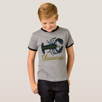 #Bluenoser Nova Scotia 902 Tartan lobster shirt - #Xmas #ChristmasEve Christmas Eve #Christmas #merry #xmas #family #kids #gifts #holidays #Santa