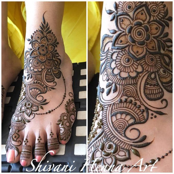 "2,839 Likes, 11 Comments - Shivani Patwa (@shivanihennaart) on Instagram: ""Henna with style and passion !! ------------------------------------------ For the booking…"""