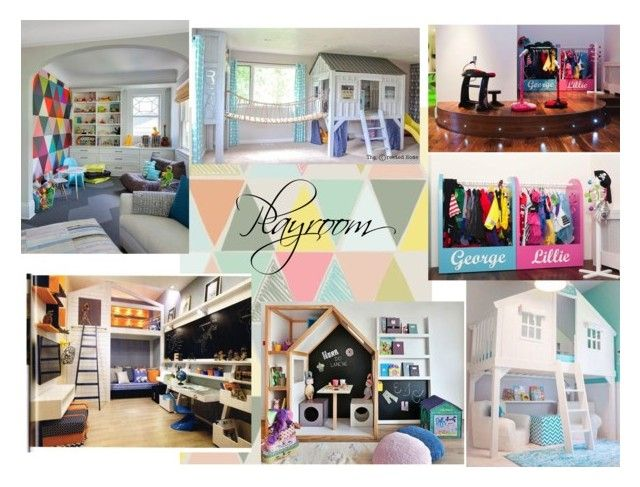 Playroom 2 ZR by naala-art on Polyvore featuring polyvore, interior, interiors, interior design, dom, home decor and interior decorating