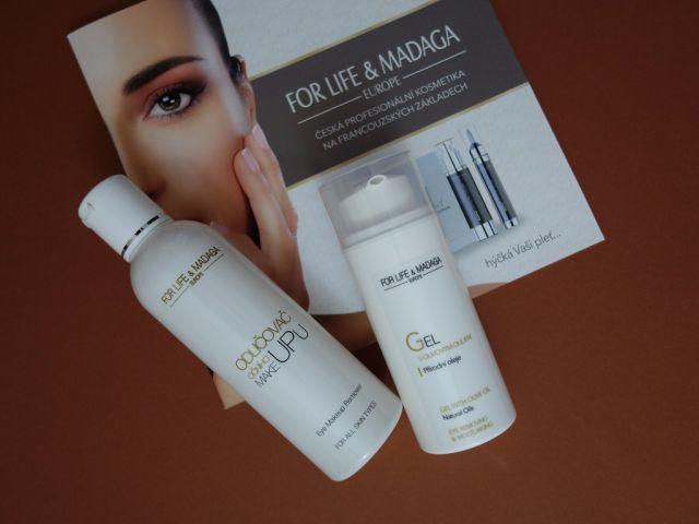 All my cosmetics: Šetrné odličování očí s For Life & Madaga