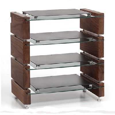 Custom Design Milan HiFi 3 rack available with free UK delivery from Hifi Gear