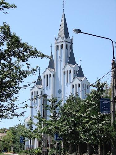 Heviz church, Hungary ~ Architect Imre Makovecz