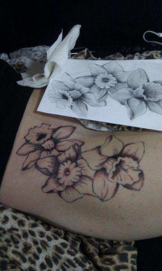 ...   Birth Flower Tattoos March Birth Flowers and Birth Flowers