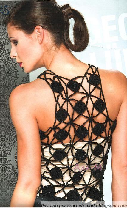 Top de Crochet      ♪ ♪ ... #inspiration #diy GB http://www.pinterest.com/gigibrazil/boards/