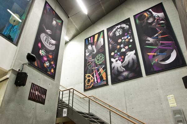 Art-work for students bar by Ben Eshel, via Behance