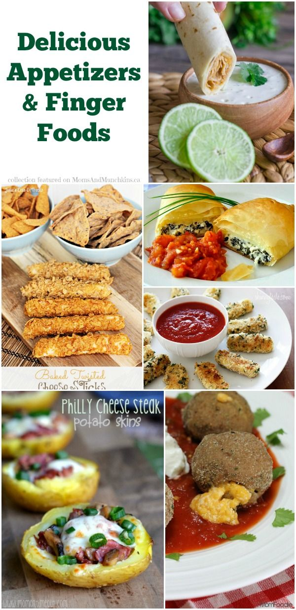 Delicious Appetizers  Finger Foods #Recipes #Appetizers