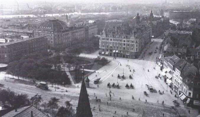 Rådhuspladsen-Halmtorvet 1898
