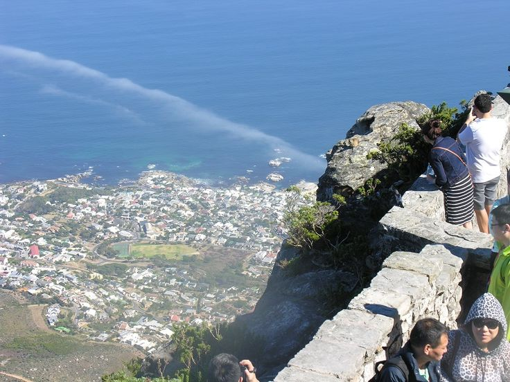 View of Camps Bay from Table Mountain - City Tour