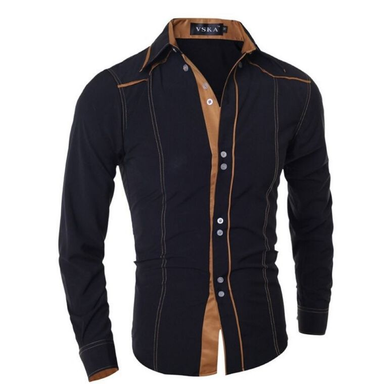 Pánská košile s dlouhým rukávem černá – Velikost L Na tento produkt se vztahuje nejen zajímavá sleva, ale také poštovné zdarma! Využij této výhodné nabídky a ušetři na poštovném, stejně jako to udělalo již velké …