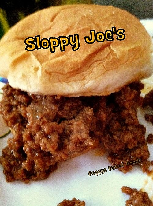 Easy Home Made Sloppy Joe's from scratch.  Great flavors and always popular! | Lovefoodies.com
