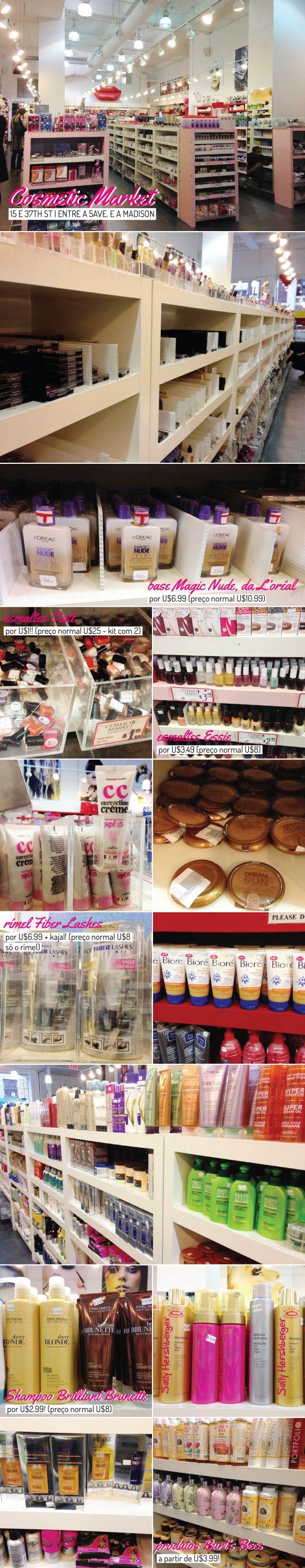 Cosmetic Market NY