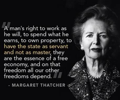 Freedom - Margaret Thatcher