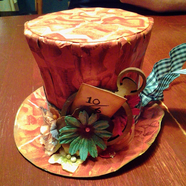 Creatively Gemini- Altered Mad Hatter Craft