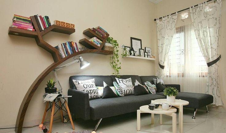 Kreasi Desain Ruang Keluarga Sederhana Sekali