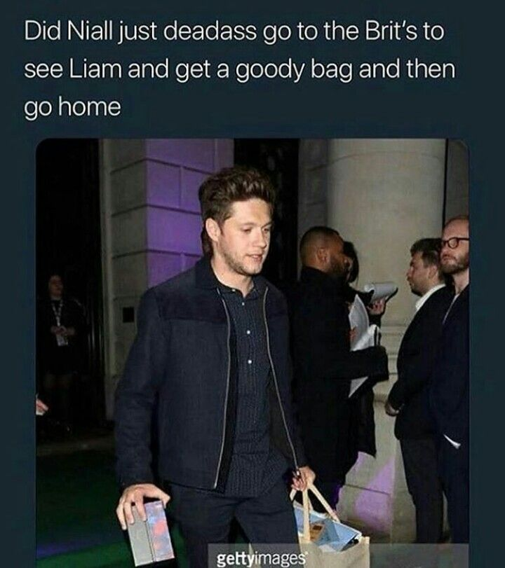 I think so...he'd totally go for the goody bagwell atleast the cupcake Niall who was in one direction would do it..don't know about this grown up being But I'm so sad he didn't win
