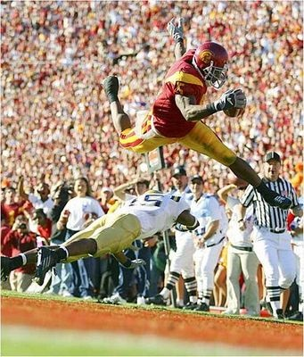 Reggie Bush - USC (not that I think he belongs with this bunch but what a photo)