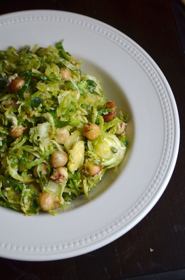 brussels sprouts salad with pecorino hazelnuts honey pecorino ...