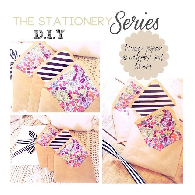 ..Twigg studios: the stationery series part1 envelopes diy