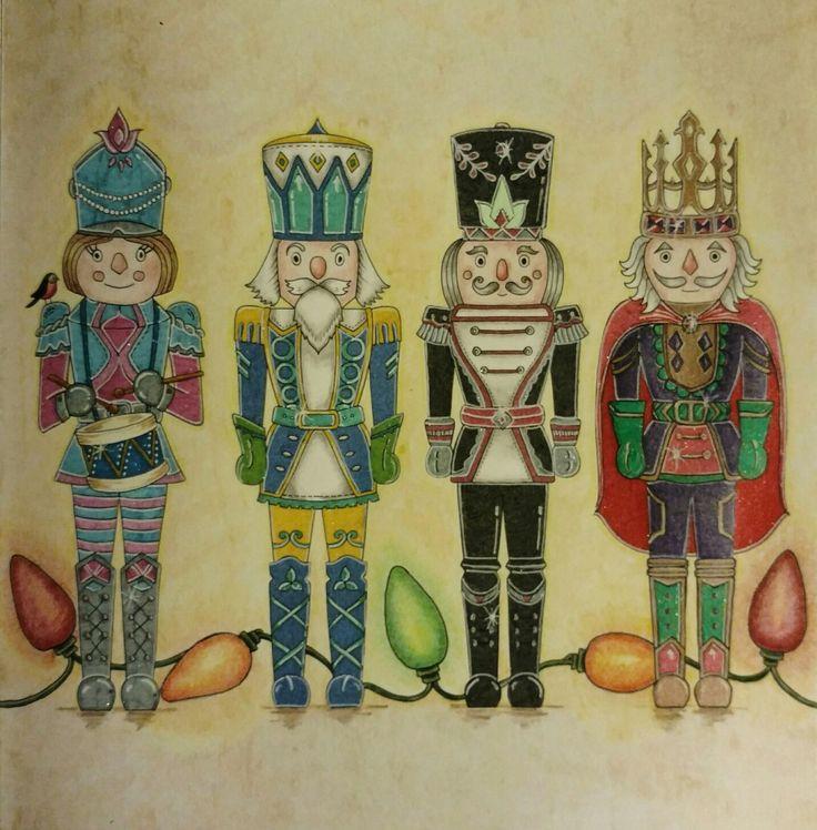 Johanna Basford Johannas Christmas By Wendy