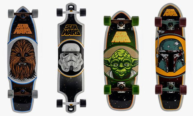 Santa Cruz Skateboards x Star Wars 2014 Collection • Highsnobiety