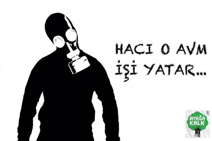 haci o is yatar! #direngezi #occupygezi