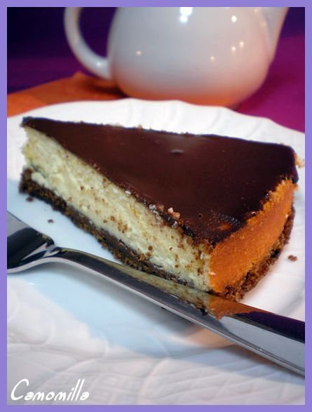 cheesecake al cioccolato e ricotta       #recipe #juliesoissons