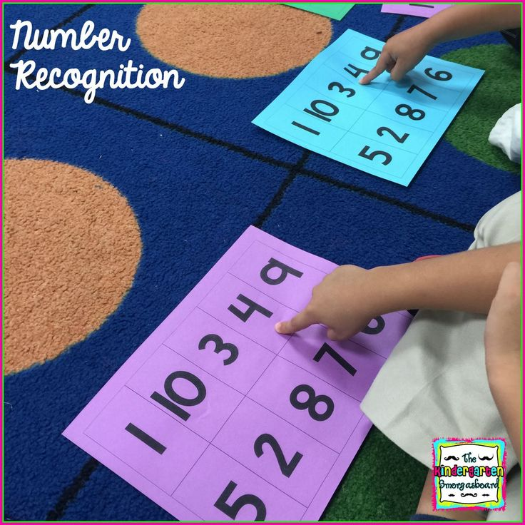 The Kindergarten Smorgasboard: A Kindergarten Smorgasboard Of EASY Number And Counting Assessments
