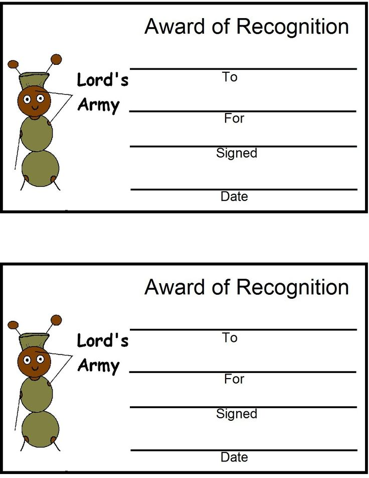 122 best vbs bible boot camp images on Pinterest Bible, Army - army certificate of training template