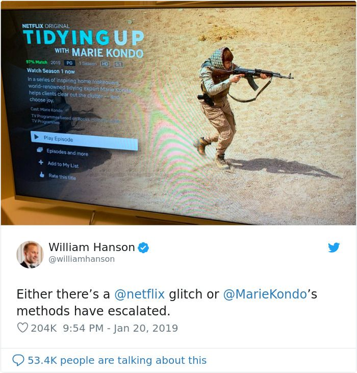 12 Of The Funniest Reactions To Netflix's Unfortunate Mistake With Marie Kondo's Pic – Even Chrissy Teigen Res