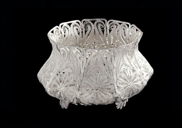 filigree-Sugar Bowl