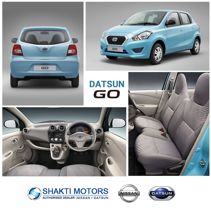 Go with the #DatsunGo - Shakti Nissan  For more details about this car: https://goo.gl/WSPtnB #DatsunCars #Datsun #BookDatsunGo
