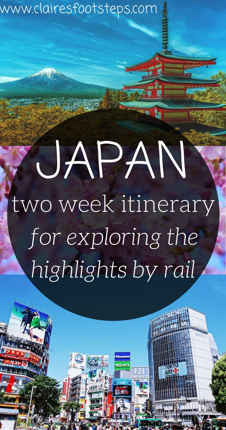 Are you thinking about spending two weeks in Japan? Here's an ultimate Japan itinerary for your trip full of the very best things to do in Japan. It's complete with transport tips such as getting the bullet train through Japan, and packing ideas, so you know exactly what to bring! #Japan #asiaitinerary #railtravel