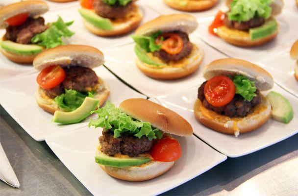 Mini hamburger alla messicana - Parliamo di Cucina