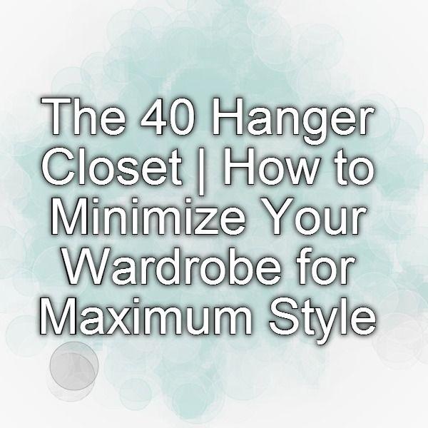 Charming The 40 Hanger Closet