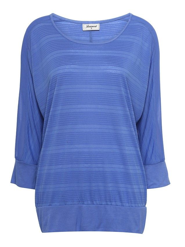 'Lila' Batwing Textured Top -