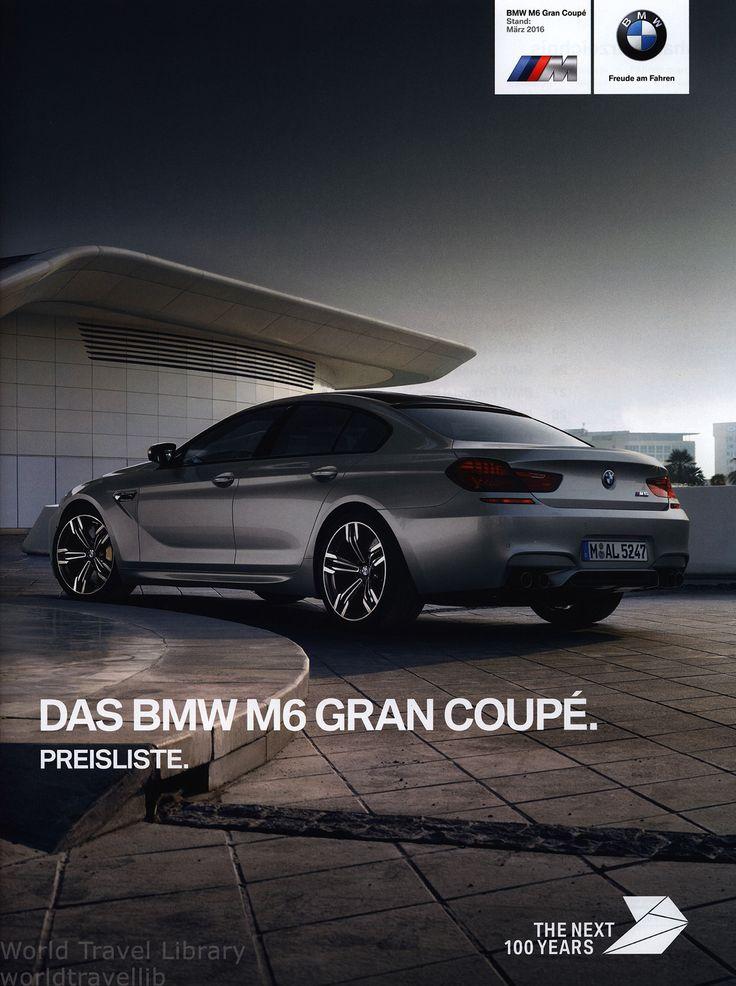 https://flic.kr/p/SLqrPd | BMW M6. Gran Coupé. Preisliste. (Daten Facts)  2016