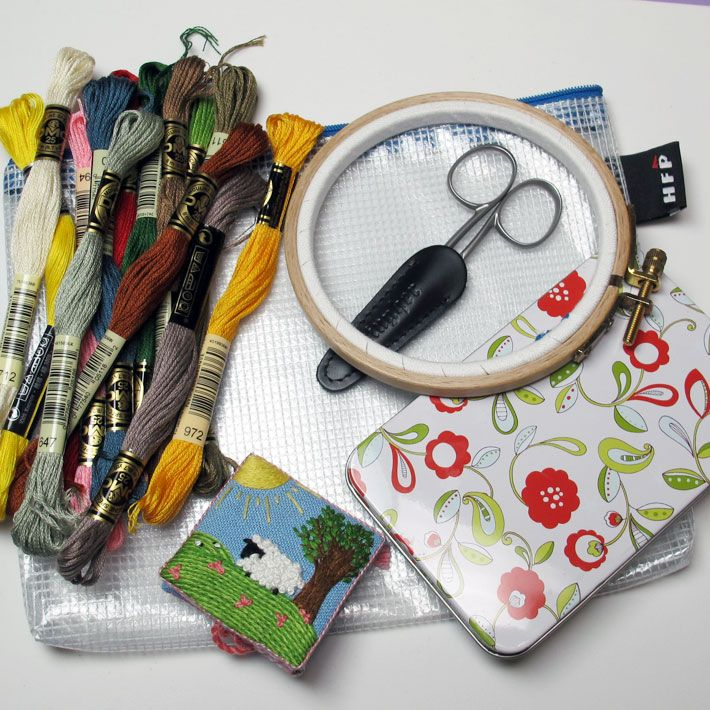 Organizing embroidery supplies top tips