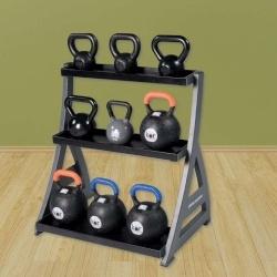 Racks,Holders & Storage:  Studio Premium Kettlebell Rack  www.BeBodySmart.com