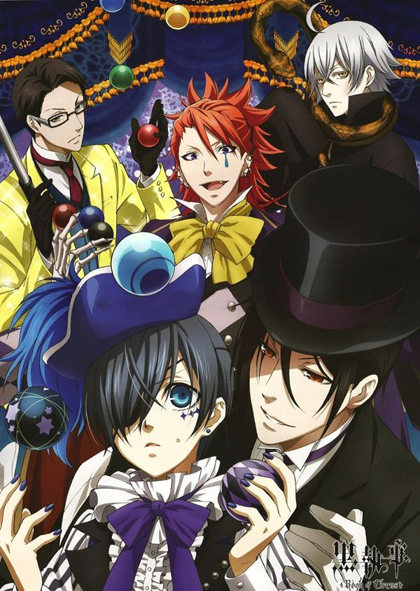 Black Butler Kuroshitsuji III Book of Circus DVD - eps :1-10 end(English sub)
