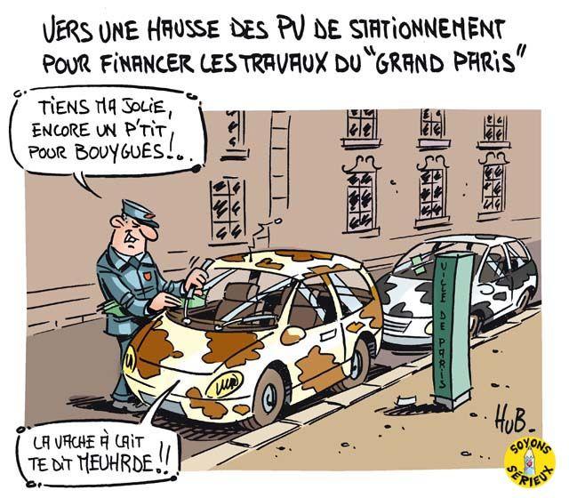 Les coûts des PV de stationnement risquent de flamber
