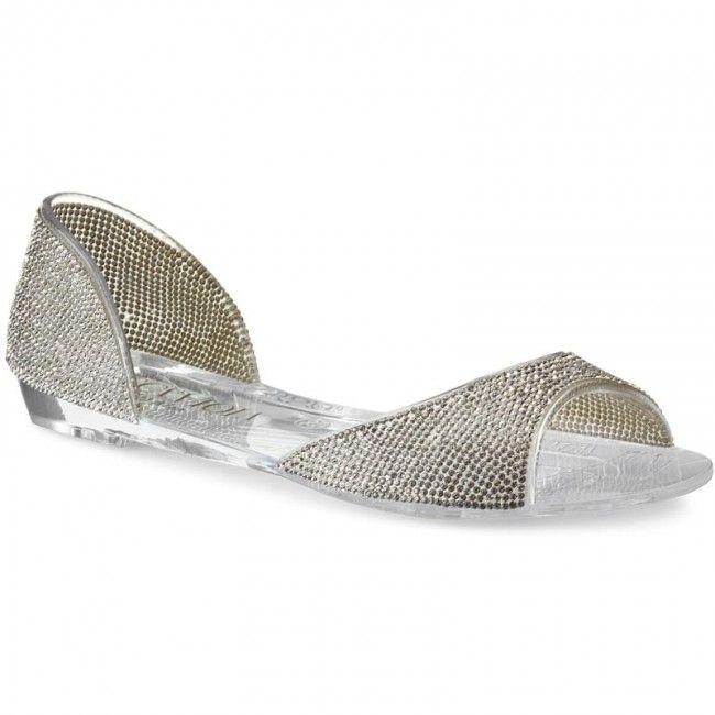 Sandále SCA'VIOLA - 81021 Silver - Sandále na každodenné nosenie - Sandále - Šľapky a sandále - Dámske - www.eobuv.sk