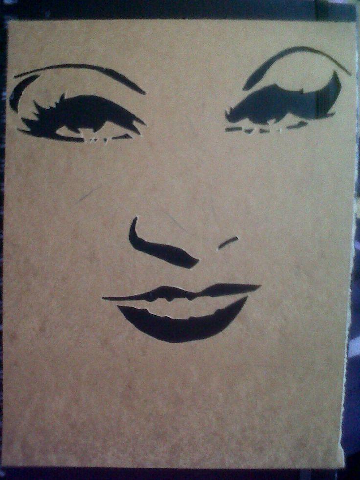 17 best images about face stencils on pinterest