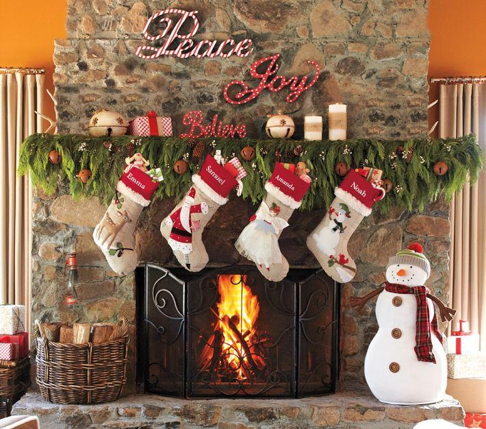 163 Best Christmas Stockings Images On Pinterest