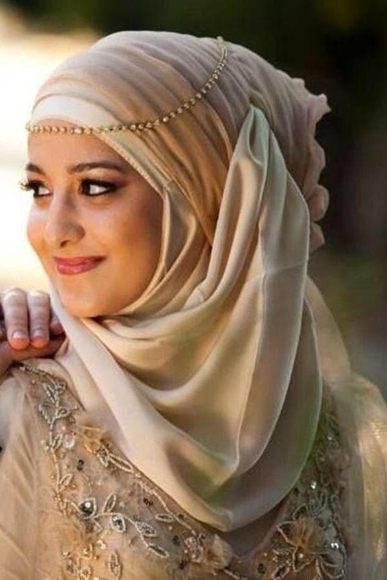 headband hijabs- Top Winter Hijab Styles with Tutorials that will Keep You Warm & Stylish