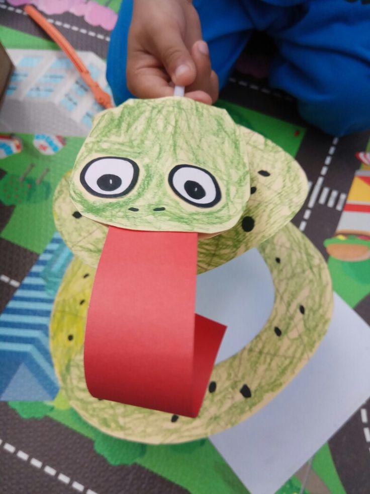 Snake/Marc's craft/papercraft