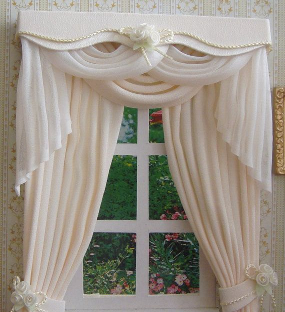 Hey, I found this really awesome Etsy listing at http://www.etsy.com/listing/164628023/miniature-112-dollhouse-curtains-on